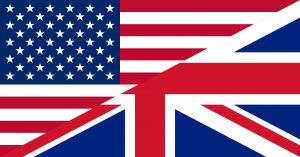 U.S.-British-Flags